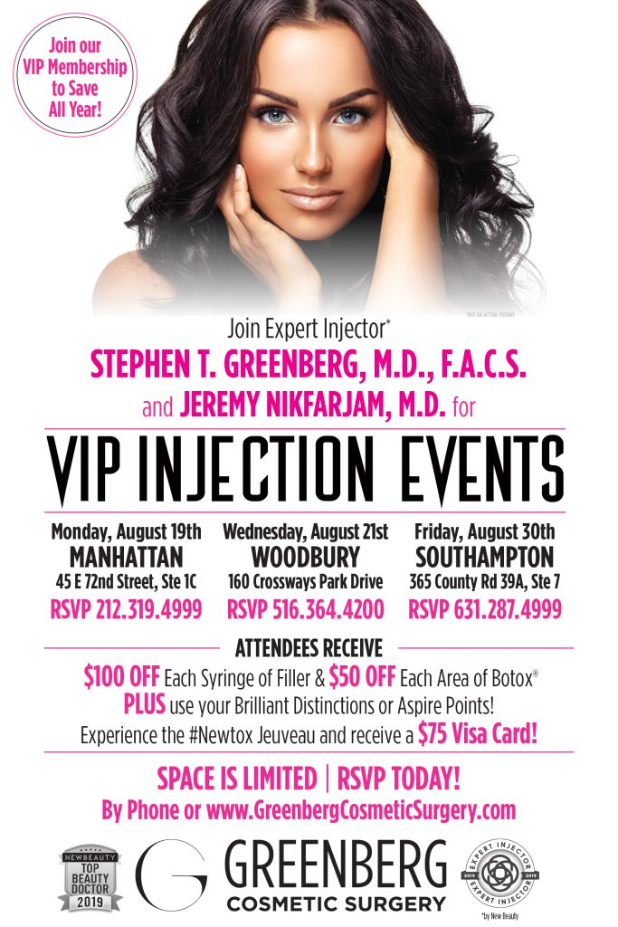 VIP Injection Events
