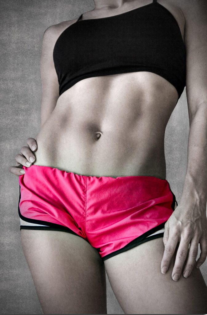 fit abs model